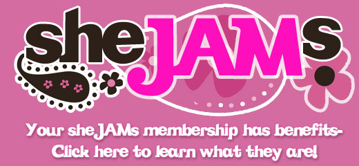 Click here to read about sheJAMs Membership benefits