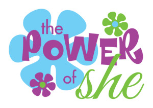 power of she logo 3a
