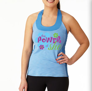 ​Tri Top -  Power of SHE  <br /> SIZE L, XL, XXL